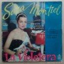 Discos de vinilo: SARA MONTIEL - EXITOS DE LA VIOLETERA - MALA ENTRAÑA + 3 / EP 1ª EDICIÓN 1958. Lote 61074735