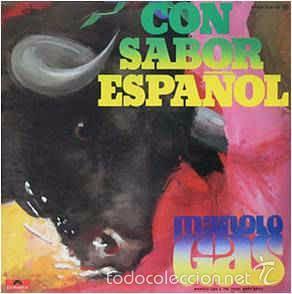 MANOLO GAS & THE TINTO BAND BANG - CON SABOR ESPAÑOL (POLYDOR, 23 85 136 LP, 1977) DISCO FUNK (Música - Discos de Vinilo - EPs - Grupos Españoles de los 70 y 80)