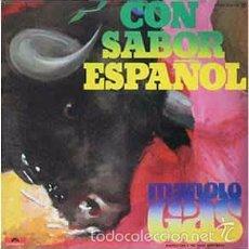 Discos de vinilo - Manolo Gas & The Tinto Band Bang - Con Sabor Español (Polydor, 23 85 136 LP, 1977) disco funk - 61075051