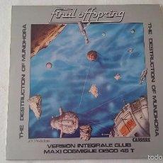 Discos de vinilo: FINAL OFFSPRING - THE DESTRUCTION OF MUNDHORA - 1978. Lote 237348540
