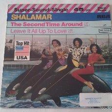Discos de vinilo: SHALAMAR - THE SECOND TIME AROUND - 1979. Lote 61087203