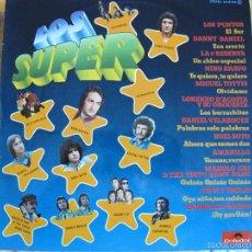 Discos de vinilo: LP - LOS SUPER - VARIOS (SPAIN, POLYDOR 1976) VER FOTO ADJUNTA. Lote 61091227