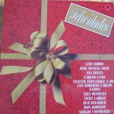 Discos de vinilo: LP - FELICIDADES - VARIOS (SPAIN, CBS 1981) VER FOTO ADJUNTA. Lote 61091579