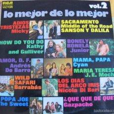 Vinyl-Schallplatten - LP - LO MEJOR DEL MOMENTO VOL. 2 -VARIOS (SPAIN, RCA 1972) VER FOTO ADJUNTA - 61093139