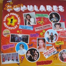 Vinyl-Schallplatten - LP - SUPER POPULARES VOL. 1 - VARIOS (SPAIN, MOVIEPLAY 1979) VER FOTO ADJUNTA - 61094887