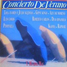 Discos de vinilo: LP - CONCIERTO DE VERANO - VARIOS (DOBLE DISCO, SPAIN, CBS 1990) VER FOTO ADJUNTA. Lote 61095879
