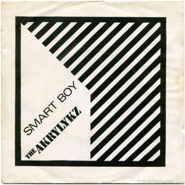 THE AKRYLYKZ (ON THE WAVE) – SMART BOY - SG PROMO SPAIN 1980 - POLYDOR 28 14 217 (Música - Discos - Singles Vinilo - Reggae - Ska)