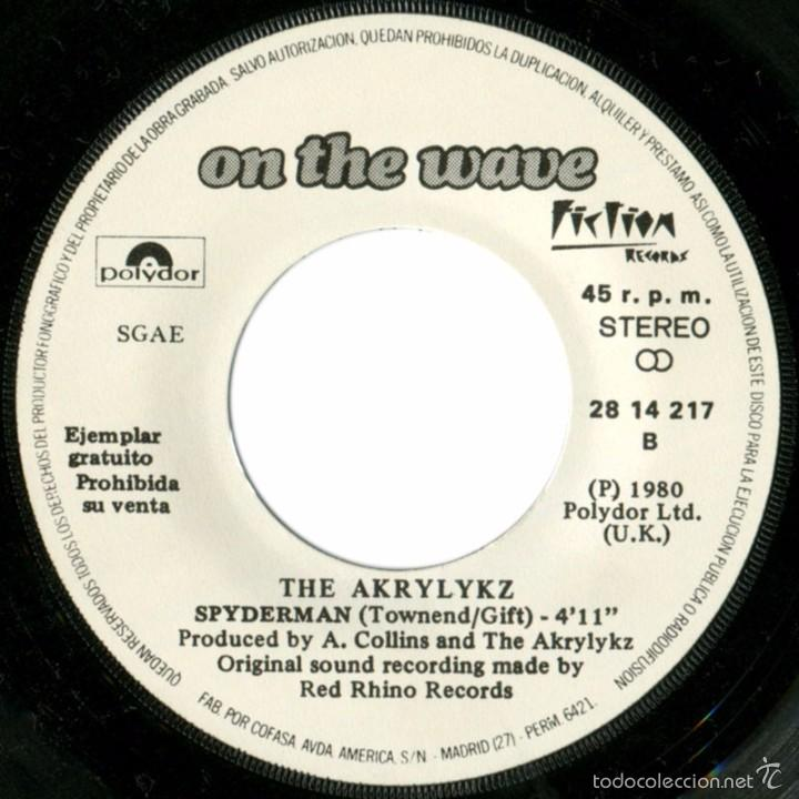 Discos de vinilo: The Akrylykz (On The Wave) – Smart Boy - Sg Promo Spain 1980 - Polydor 28 14 217 - Foto 3 - 61110875