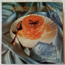 Discos de vinilo: PAU RIBA, AMARGA CRISI (EDIGSA) LP - POSTER LETRAS. Lote 61116035