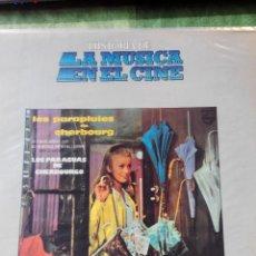 Discos de vinilo: HISTORIA DE LA MUSICA EN EL CINE - LOS PARAGUAS DE CHERBOURGO - LP VINILO BELTER 8. Lote 61116539