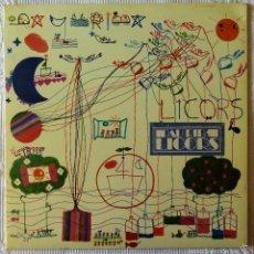 Discos de vinilo: PAU RIBA, LICORS (MOVIEPLAY GONG) LP ESPAÑA - GATEFOLD. Lote 61120311
