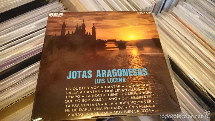 Discos de vinilo: Jotas aragonesas Luis de lucena Ep disco de vinilo single RCA - Foto 4 - 61124223