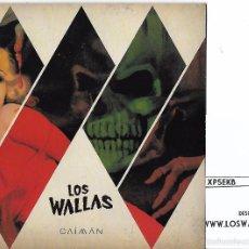 Discos de vinilo: WALLAS, LOS: CAIMÁN / NENA / AULLIDOS / DEMASIADA PRESIÓN (SKY SAXON). Lote 132899421