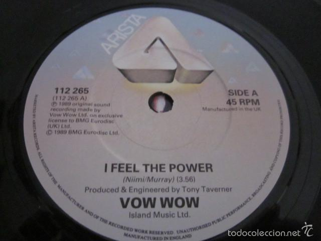 Discos de vinilo: VOW WOW - I FEEL THE POWER - SN - EDICION INGLESA DEL AÑO 1989. - Foto 3 - 61136023