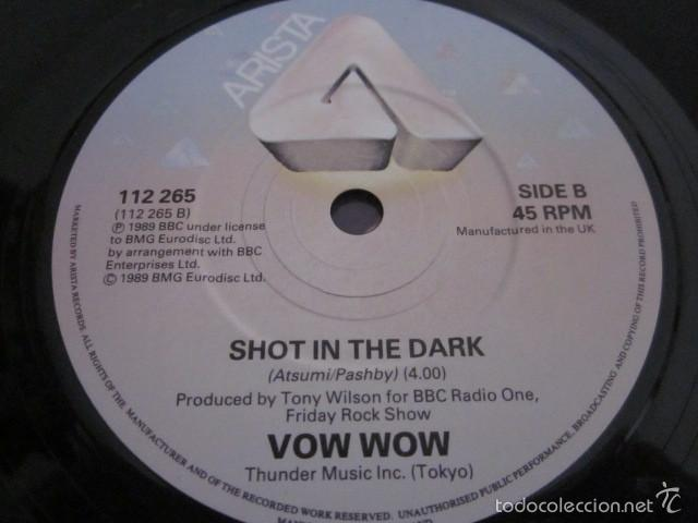 Discos de vinilo: VOW WOW - I FEEL THE POWER - SN - EDICION INGLESA DEL AÑO 1989. - Foto 4 - 61136023