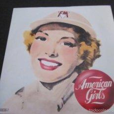 Discos de vinilo: FM - AMERICAN GIRLS(REMIX) - SN - EDICION INGLESA DEL AÑO 1986.. Lote 61136127