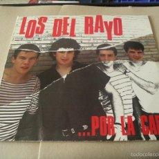 Discos de vinilo: LOS DEL RAYO LP ...POR LA CARA OIHUKA ORIGINAL ESPAÑA 1989 + FUNDA INTERIOR. Lote 61137283