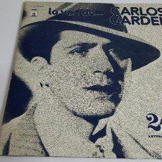 Discos de vinilo: MAGNIFICO DOBLE LP - CARLOS GARDEL -. Lote 61144799