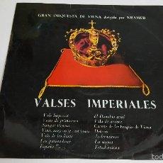 Discos de vinilo: MAGNIFICO LP - GRAN ORQUESTA DE VIENA - VALSES IMPERIALES -. Lote 61145195