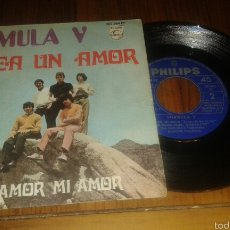 Discos de vinilo: FORMULA V:BUSCA UN AMOR/TU AMOR MI AMOR.SG 1969 PHILIPS. Lote 61172630
