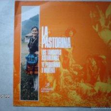 Discos de vinilo: LA PASTORINA - LOS TAMBORES ASTURIANOS + YE PEQUEÑINA Y MORENA . Lote 61173907