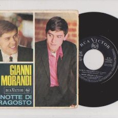 Discos de vinilo: GIANNI MORANDI - R.C.A. ESPAÑOLA VÍCTOR 3-10188 / 1966. Lote 61177703