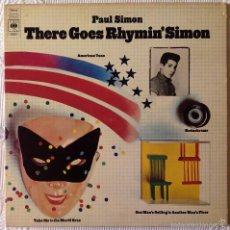 Discos de vinilo: PAUL SIMON, THERE GOES RHYMIN' SIMON (CBS) LP USA - GATEFOLD. Lote 61184883