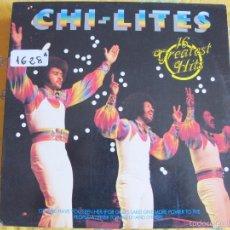 Discos de vinilo: LP - CHI-LITES - 16 GREATEST HITS (GERMANY, STREETLIFE RECORDS SIN FECHA). Lote 61203179