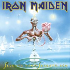 Discos de vinilo: IRON MAIDEN - LP VINILO SEVENTH SON OF A SEVENTH SON - 180 GR - NUEVO Y PRECINTADO. Lote 61210895