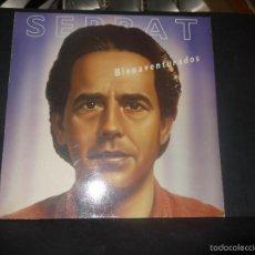 Discos de vinilo: SERRAT - BIENAVENTURADOS.. Lote 61225455