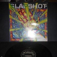 Discos de vinilo: SLAPSHOT - UNCONSCIOUSNESS. VINILO MUY DIFICIL.. Lote 61226455
