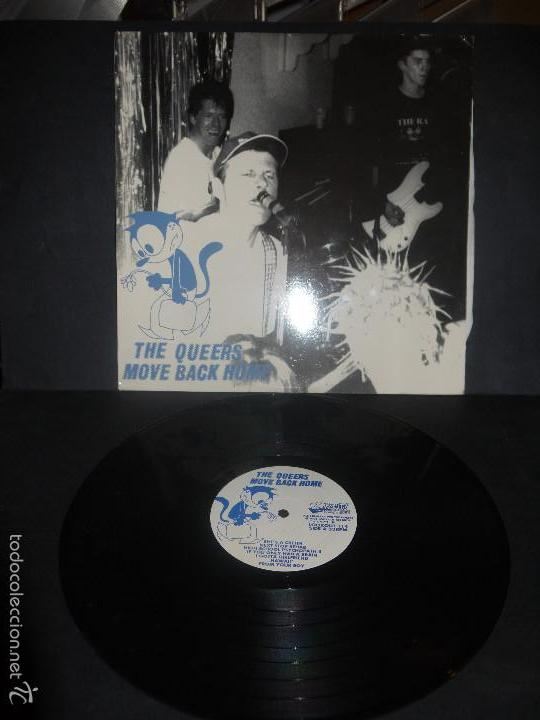 THE QUEERS - MOVE BACK HOME, VINILO LOOKOUT RECORDS. (Música - Discos - LP Vinilo - Punk - Hard Core)