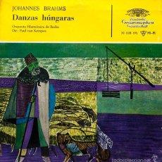 Discos de vinilo: BRAHMS - DANZAS HÚNGARAS - EP. Lote 61227111