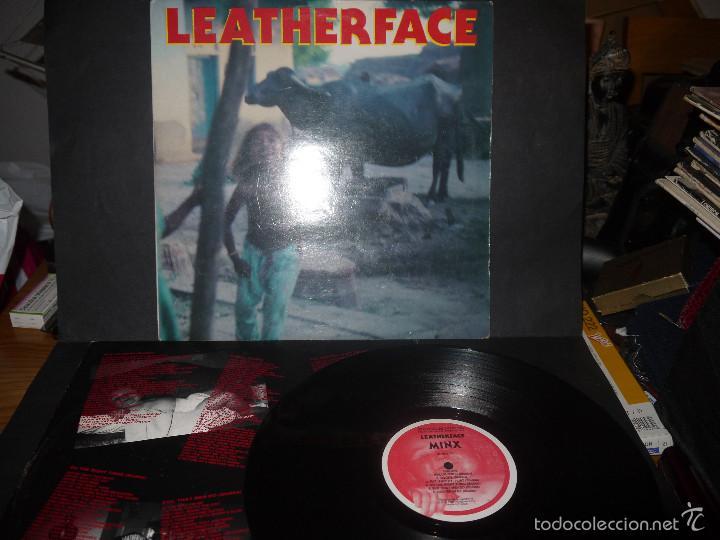 LEATHERFACE- MINX. VINILO. (Música - Discos - LP Vinilo - Punk - Hard Core)