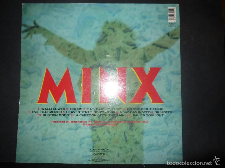 Discos de vinilo: LEATHERFACE- MINX. VINILO. - Foto 3 - 61227143