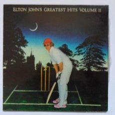 Discos de vinilo: ELTON JOHN - GREATEST HITS VOLUME II. Lote 61248123
