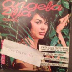Discos de vinilo: ANGELA ZILIA - EN LA CRUZ DE TU MANO/ ASPRES CORDELLES + 2 (1961) ORQUESTA FLORIDA. Lote 61250583