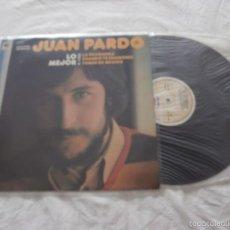 Discos de vinilo: JUAN PARDO (BRINCOS) LP LO MEJOR (1981) EDITA DISCOSA - COMO NUEVO. Lote 61253019