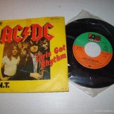 Discos de vinilo: AC DC - GIRLS GOT RHYTHM. Lote 61255959