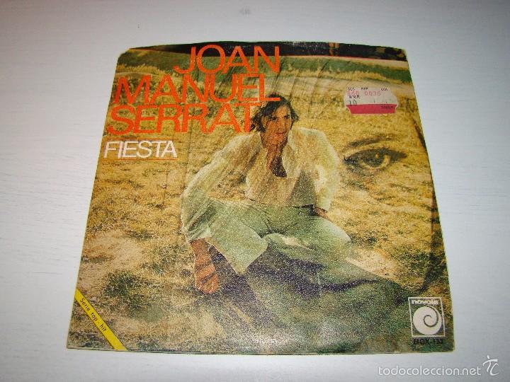 JOAN MANUEL SERRAT - FIESTA - SEÑORA (Música - Discos - Singles Vinilo - Cantautores Españoles)