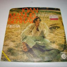 Discos de vinilo: JOAN MANUEL SERRAT - FIESTA - SEÑORA. Lote 61257187
