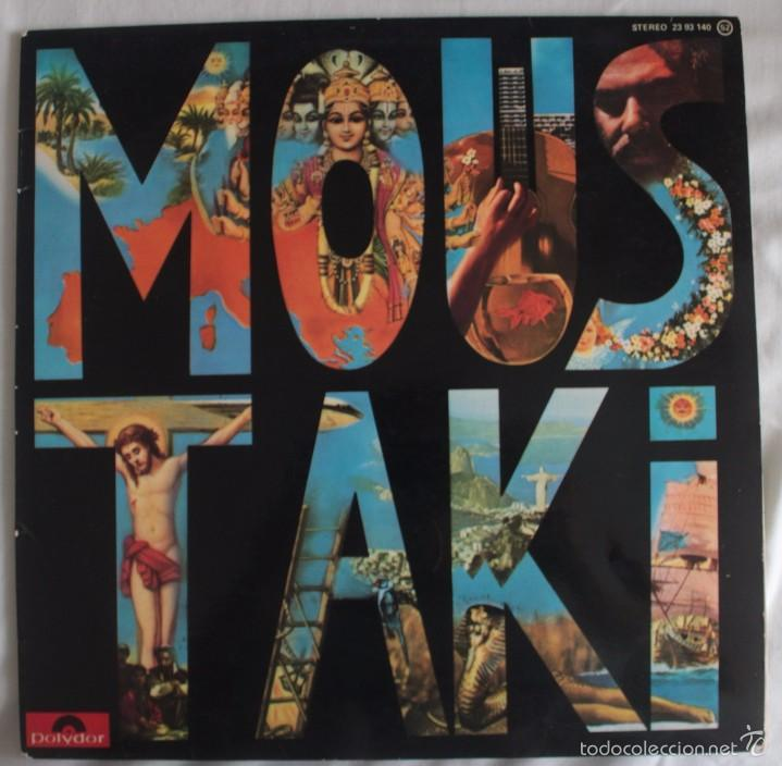 DISCO VINILO LP MOUSTAKI - GEORGES MOUSTAKI - (Música - Discos - LP Vinilo - Cantautores Extranjeros)