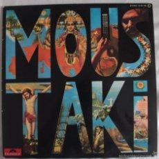 Discos de vinilo: DISCO VINILO LP MOUSTAKI - GEORGES MOUSTAKI -. Lote 61257839