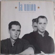 Discos de vinilo: DISCO VINILO LP VIVIR AL ESTE DEL EDÉN - LA UNIÓN -. Lote 61257883