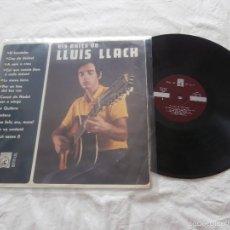 Discos de vinilo: LLUIS LLACH LP ELS EXITS (1969) EDITA CONCENTRIC -SU PRIMER LP- 1 º EDICION ORIGINAL- BUENA CONDICIO. Lote 61260759