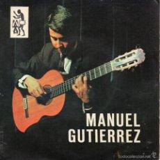 Discos de vinilo: CANARIAS SELLO TAM TAM EP DE MANUEL GUTIÉRREZ - CORROS + RECUERDOS DE LA ALHAMBRA + 1. Lote 61260987