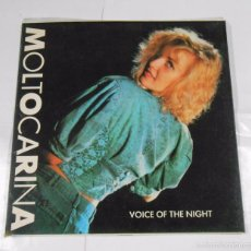 Discos de vinilo: MOLTOCARINA VOICE OF THE NIGHT. TDKDA13. Lote 61263119