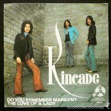Discos de vinilo: KINCADE (SINGLE 1973) DO YOU REMEMBER MARILYN? -. Lote 61266495