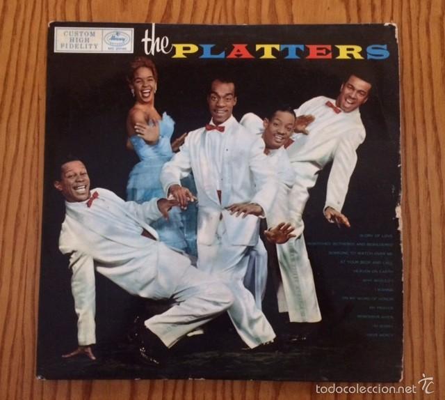 THE PLATTERS - THE PLATTERS - LP - MONOAURAL - VINILO (Música - Discos de Vinilo - Maxi Singles - Pop - Rock Extranjero de los 50 y 60)