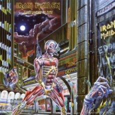 Discos de vinilo: IRON MAIDEN - LP VINILO SOMEWHERE IN TIME- 180 GRAM - REEDICIÓN 2014 - PRECINTADO. Lote 61279763
